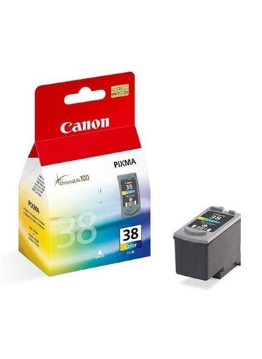 Canon Canon Cl-38 Renkli Mürekkep Kartuş Renkli